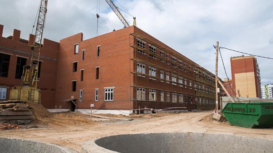 В декабре этого года строители должны завершить работы в 18-й школе