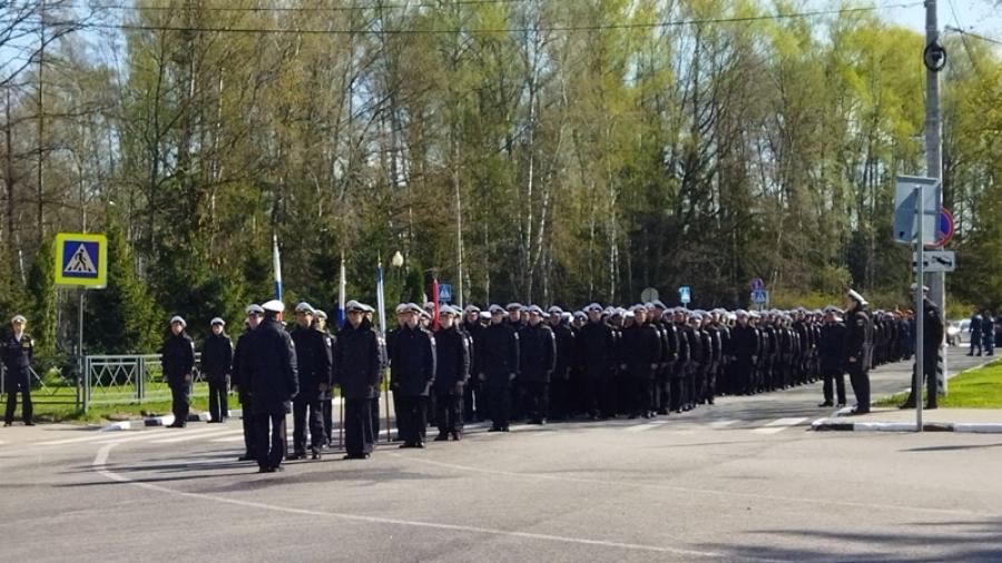 В Обнинске сегодня прошла репетиция парада Победы