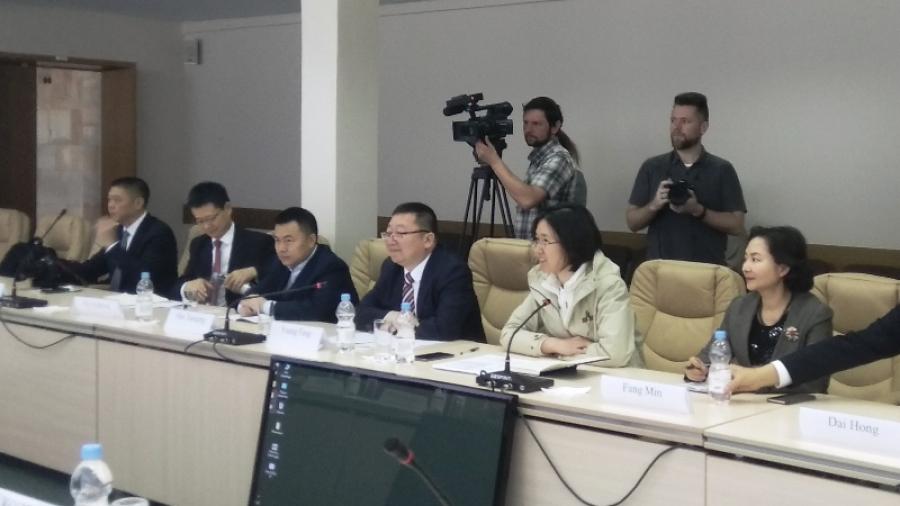 Обнинск с официальным визитом посетила делегация из Мяньяна