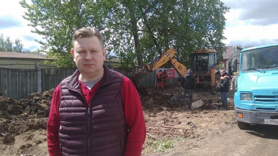 В Обнинске наконец приступили к строительству улицы Лесная
