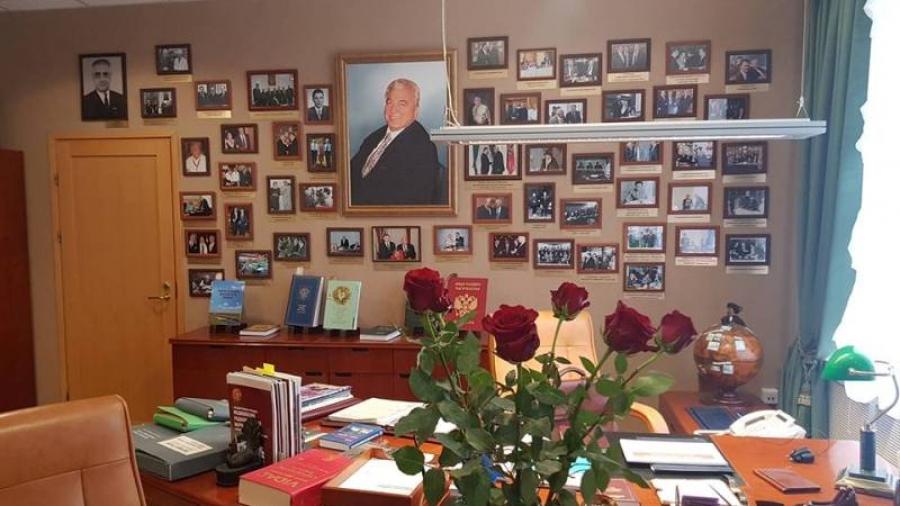 В обнинском МРНЦ открыли мемориальный кабинет А.Ф. Цыба