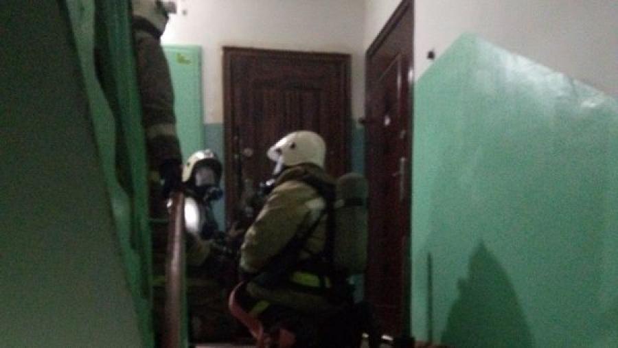 В Обнинске при пожаре погиб мужчина