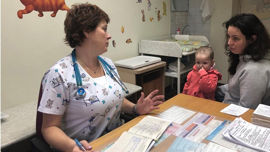 Обнинск ждет прививку от кори