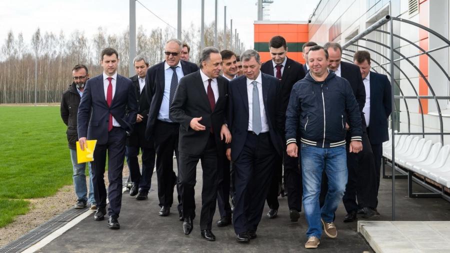 Вице-премьер Виталий Мутко похвалил область за готовность к ЧМ-2018