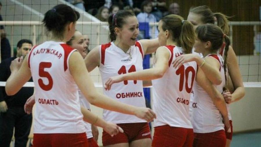 """Волейбольный клуб """"Обнинск"""" в этом сезоне будет выступать в 1-й лиге"""