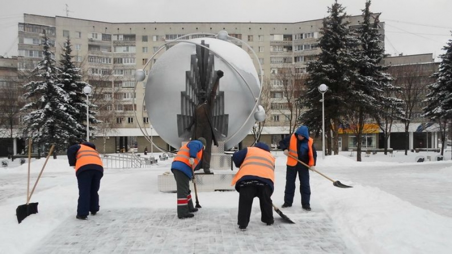 Обнинские коммунальщики успешно справляются со снегом