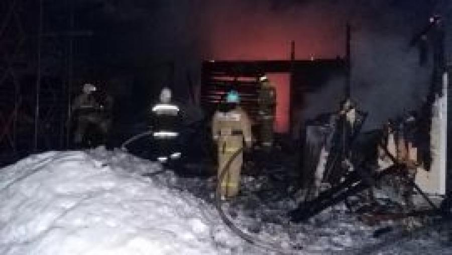 Вчера в Кременках сгорела дача, а ее хозяин лишь обжегся