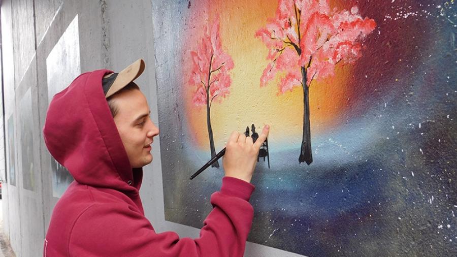 Обнинск и граффити