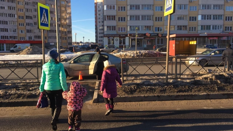 Вчера в Обнинске у Фора-Банка сбили пенсионера