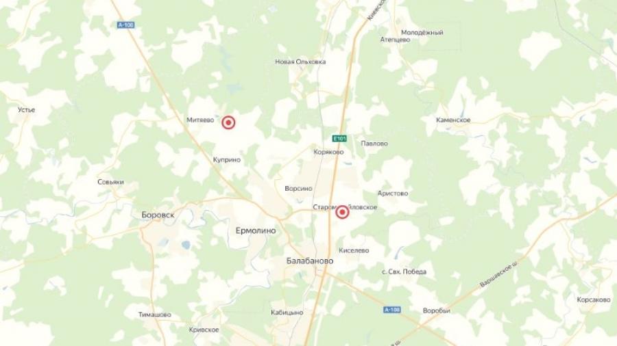 В Боровском районе создали интерактивную карту несанкционированных стоков