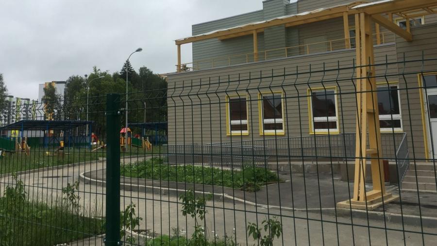 Открытие нового детского сада в Экодолье переносится ориентировочно на месяц
