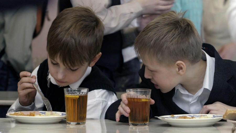Анатолий Артамонов предложил сменить систему школьного питания в регионе