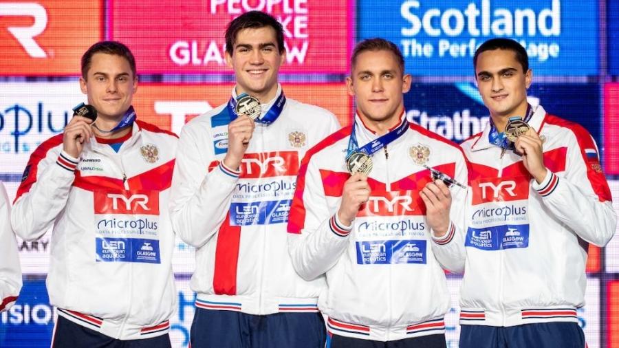 Чемпионат Европы по плаванию в Глазго завершился триумфом сборной России