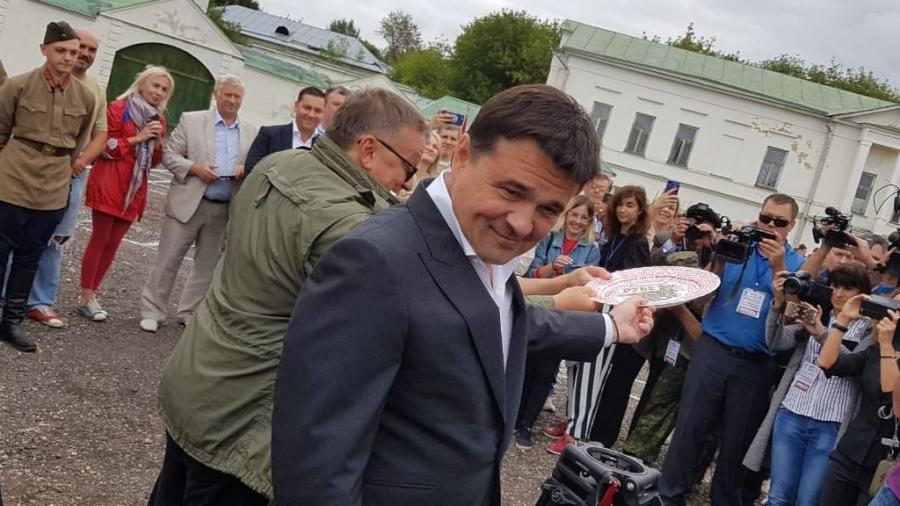 """В Подольске разбили тарелку: официально начаты съемки фильма """"Ильинский рубеж"""""""
