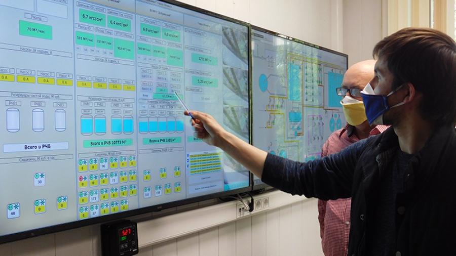 На МП «Водоканал» установлена новая автоматизированная система. Она контролирует весь путь воды — от скважины до очистных