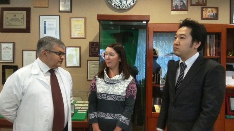 Обнинск посетил первый секретарь посольства Японии в России Ёсида Тору