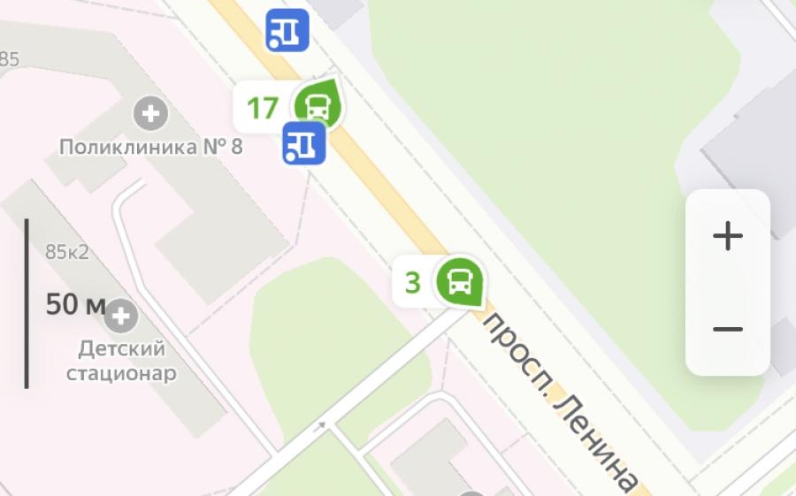 """18-й и 19-й маршруты появятся в сервисе """"Яндекс. Транспорт"""" в течение 2-3 недель"""