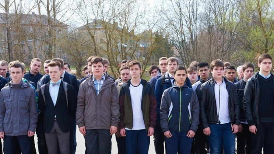 В Обнинске десятиклассники проходят военные сборы