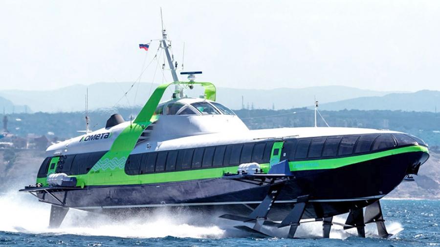 Премьер Дмитрий Медведев открыл движение «Кометы» на подводных крыльях