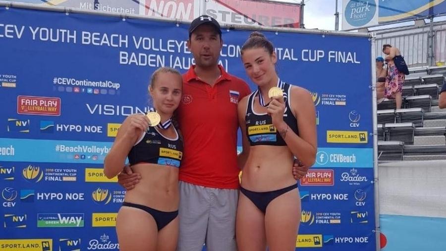 Мария Воронина и Мария Бочарова - победительницы Юношеских Олимпийских игр!