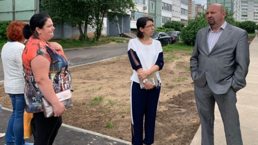 Жители Белкинской, 27 одобрили благоустройство своего двора