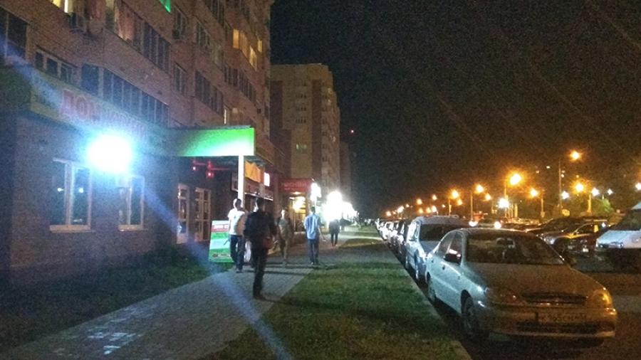 Свет в пределах нормы. В последнее время в Обнинске становится все больше световой рекламы.