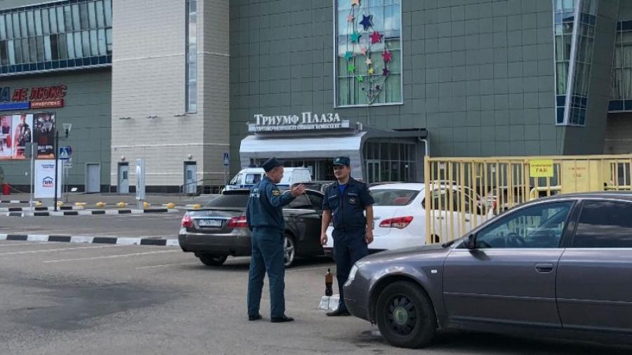 Человек, якобы заминировавший Триумф Плазу, оказался тем же «хулиганом», что сообщил о взрывчатке в ТЦ в прошлом году