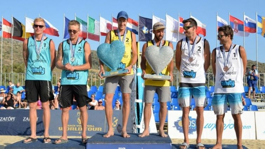 Обнинские пляжники Сиволап и Ярзуткин одержали очередную победу