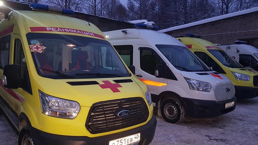 В Обнинске с Нового года работает пять бригад скорой