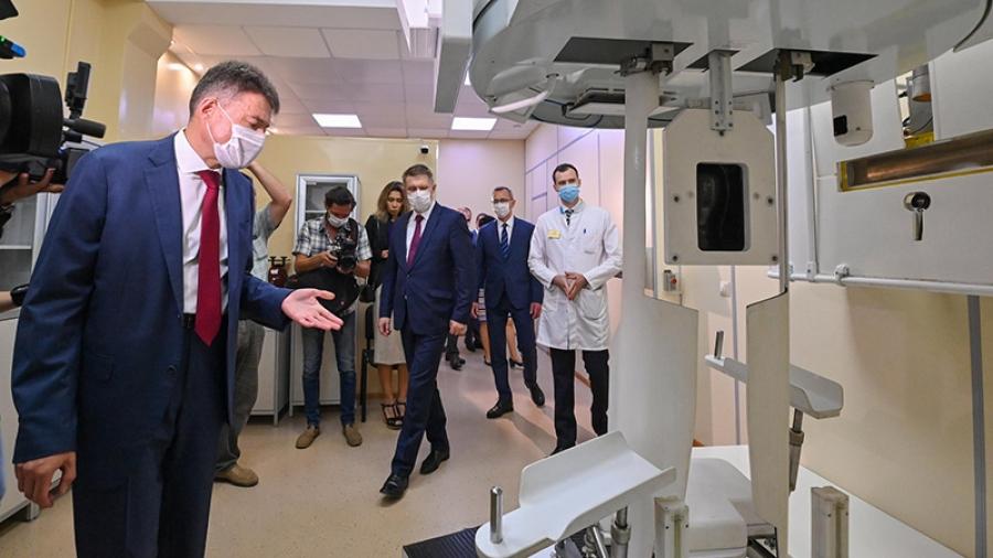 Мурашко и «мозг российской онкологии»
