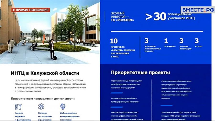 Обнинск 2.0 - в Совете Федерации представлена новая стратегия наукограда