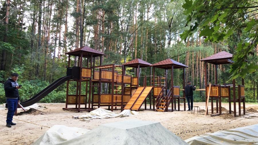 Обнинцы просят организовать видеонаблюдение в Гурьяновском лесу, чтобы с новым детским городком ничего не случилось