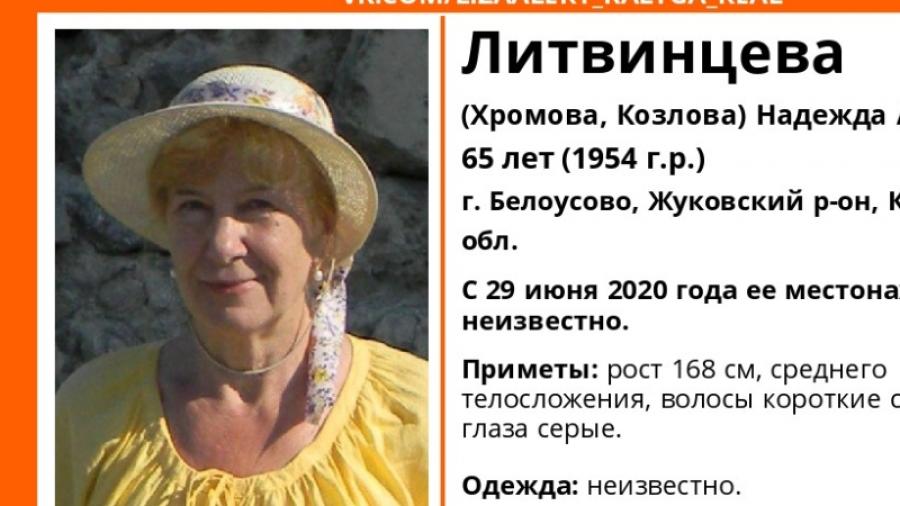 Продолжается поиск жительницы Белоусова