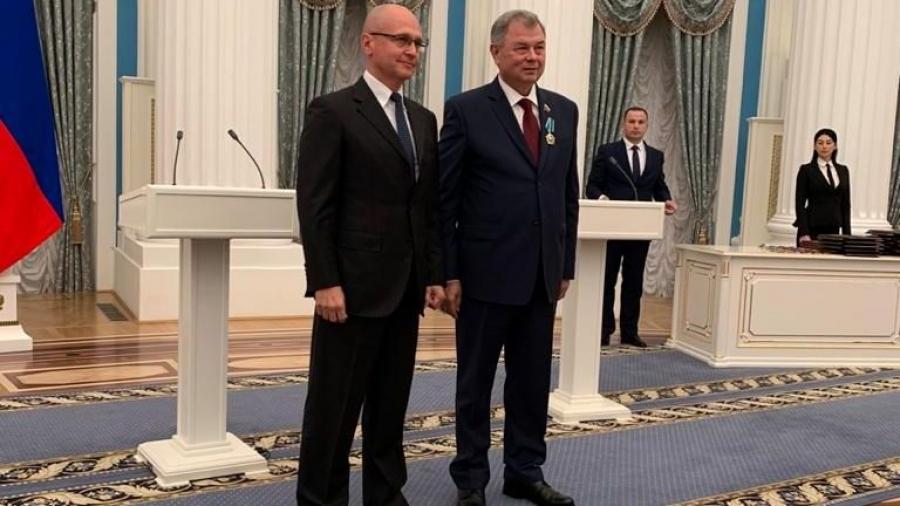 Анатолию Артамонову в Кремле вручили Орден Дружбы