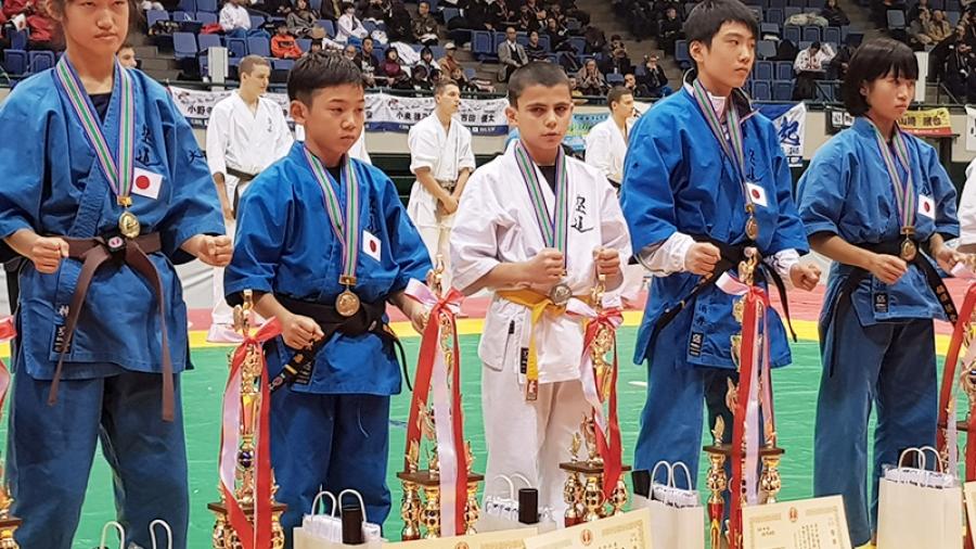 Второй в мире: воспитанник обнинской спортшколы «Держава» 12-летний Арсен Аветисян стал серебряным призером первенства мира по кудо