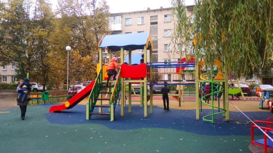 В Обнинске практически завершили благоустройство дворов на этот год
