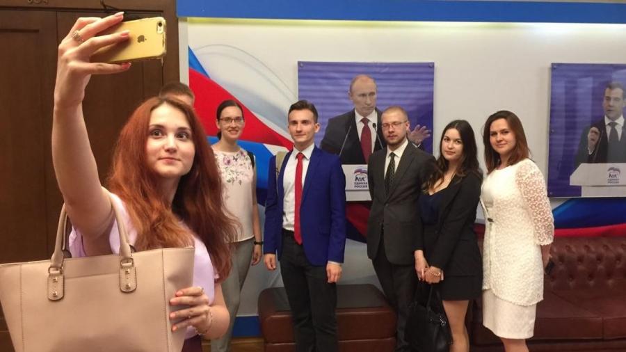 Геннадий Скляр пригласил в Госдуму студентов-политологов КГУ имени К.Э. Циолковского