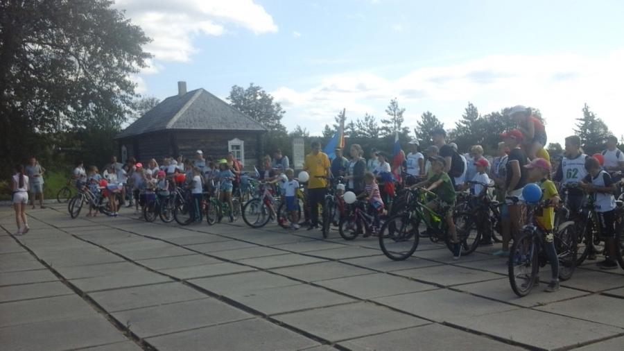 В Жукове прошел велопробег