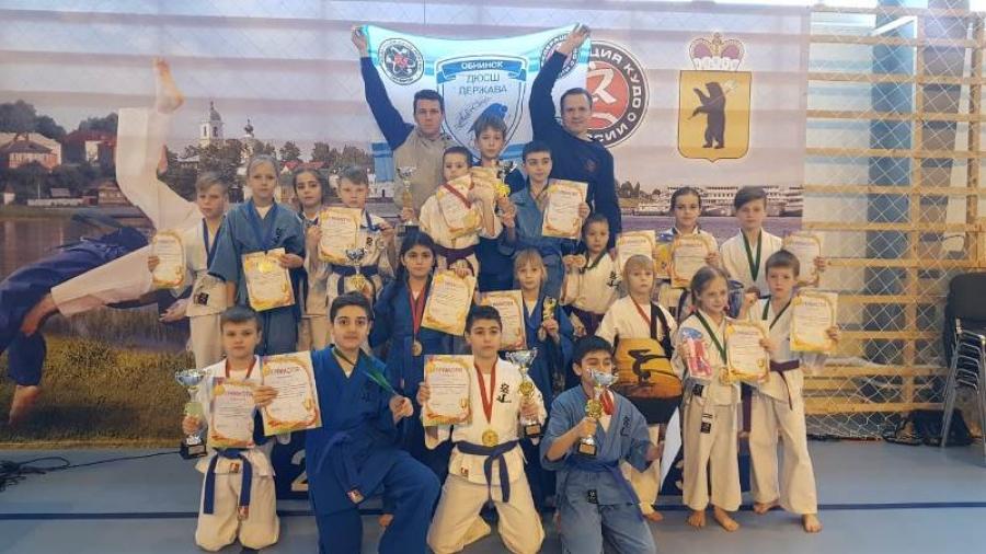 Обнинские кудоисты привезли 11 медалей с первенства ЦФО