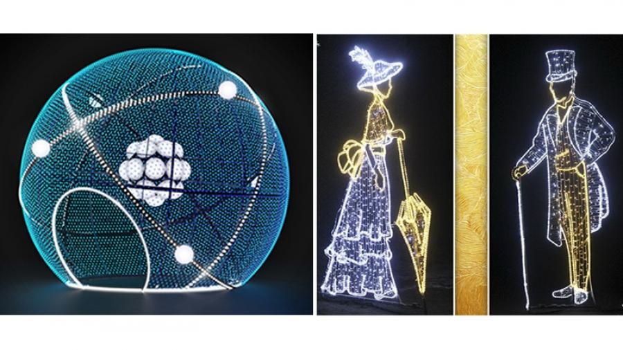 В Обнинске на Новый год установят пять больших елок