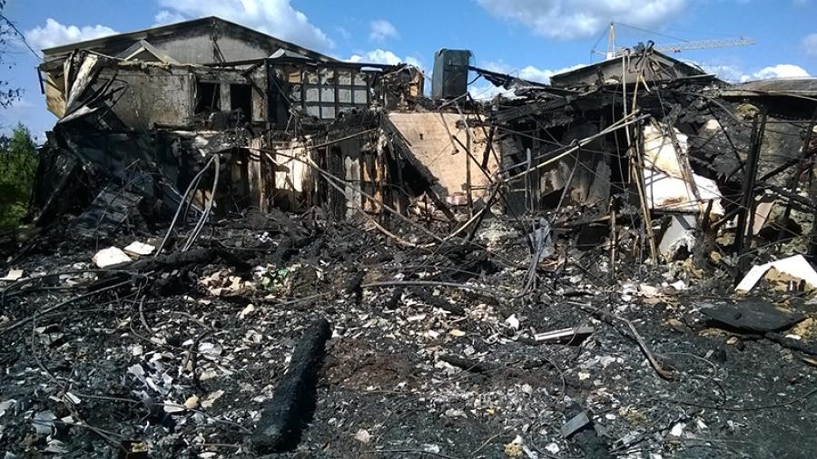 Огонь «помог» завершить программу переселения в Малоярославце в срок