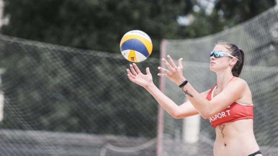 Обнинские пляжницы взяли золото и серебро этапа Чемпионата России!