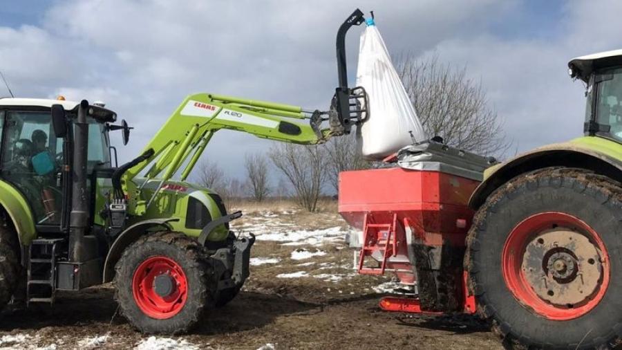 В Калужской области начались весенние полевые работы
