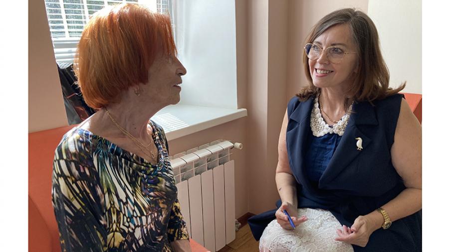 Директор социального Агентства «Семья» Лариса Ведашева разрабатывает первый проект единой социальной помощи в Калужской области