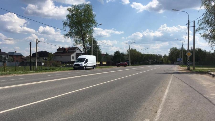 Уличное освещение на Борисоглебской восстановленно