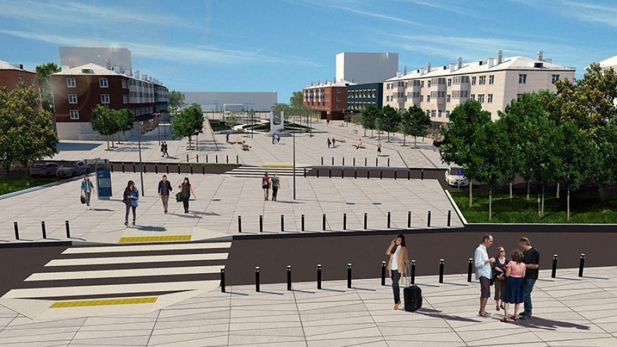 Обнинскую улицу Лейпунского готовятся преобразить: к Новому году будет готов проект
