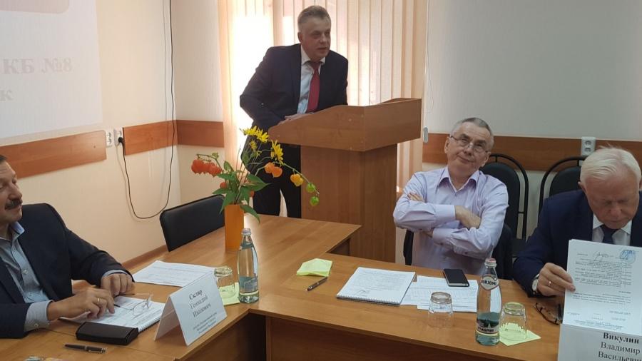Сегодня в Обнинске прошло первое заседание Общественного совета при КБ№8