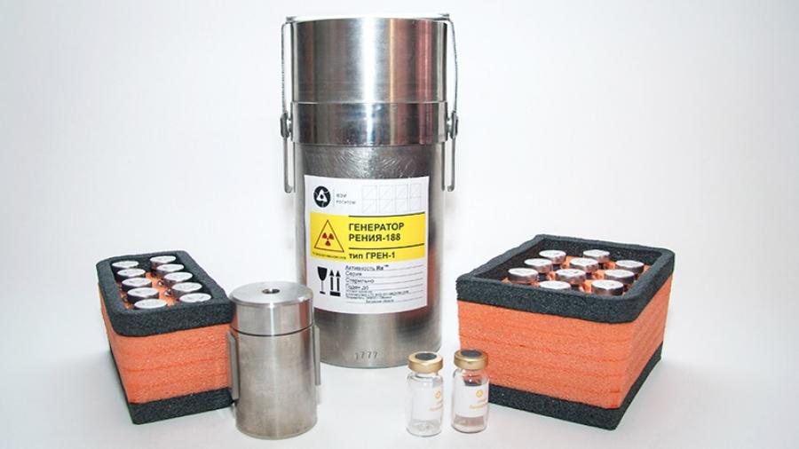 Обнинский ФЭИ получил регистрационное удостоверение на генератор рения-188 «Грен-1», необходимого для лечения от рака и болезней суставов