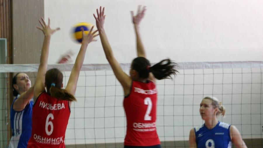 Обнинские волейболистки дважды добились успеха в Воронеже