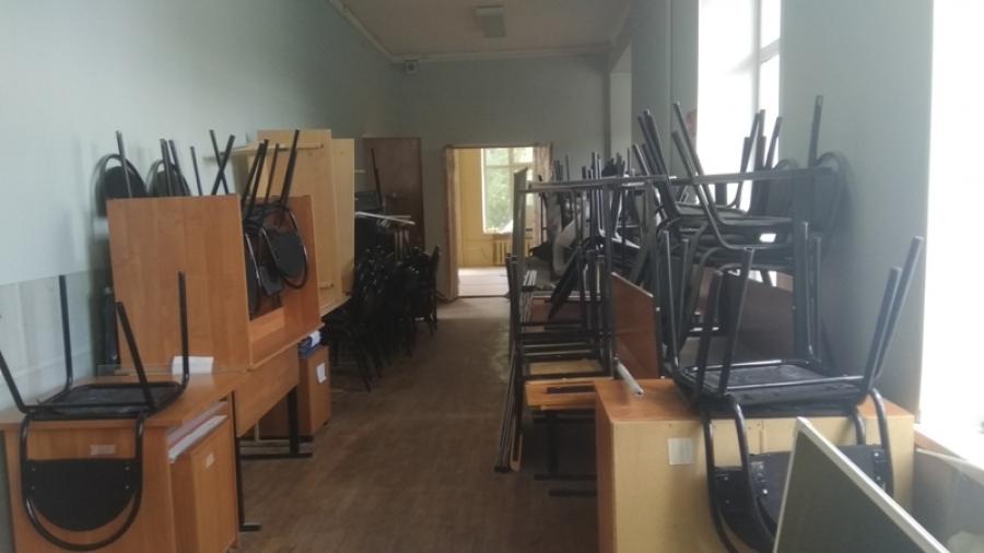 В гимназии завершают ремонт